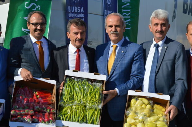 Bursa'dan Hollanda'ya biber ihracatı