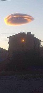 Tunceli'de görülen bulut UFO tartışmasına neden oldu
