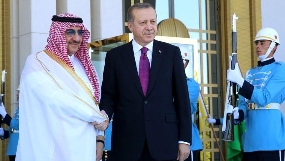 Suudi Arabistan Veliaht Prensi, Başbakan Birinci Yardımcısı ve İçişleri Bakanı Muhammed bin Nayif bin Abdülaziz Al Suud