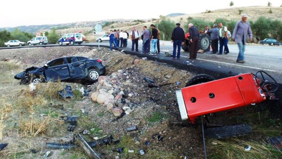 Ankara Çankırı Kaza