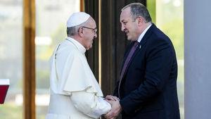 Papa'dan Gürcistan ziyareti