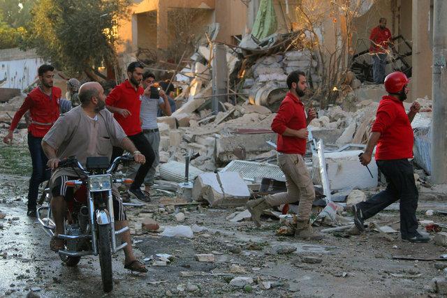Esad, İdlib'de katliam yaptı