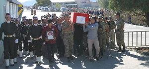 Şırnak'ta şehit korucu Nazmi Öztunç için tören düzenlendi