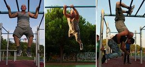 """""""Ninja dayı"""" spor tutkusuyla hayran bırakıyor"""