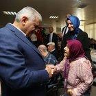 Başbakan'dan huzurevi ziyareti