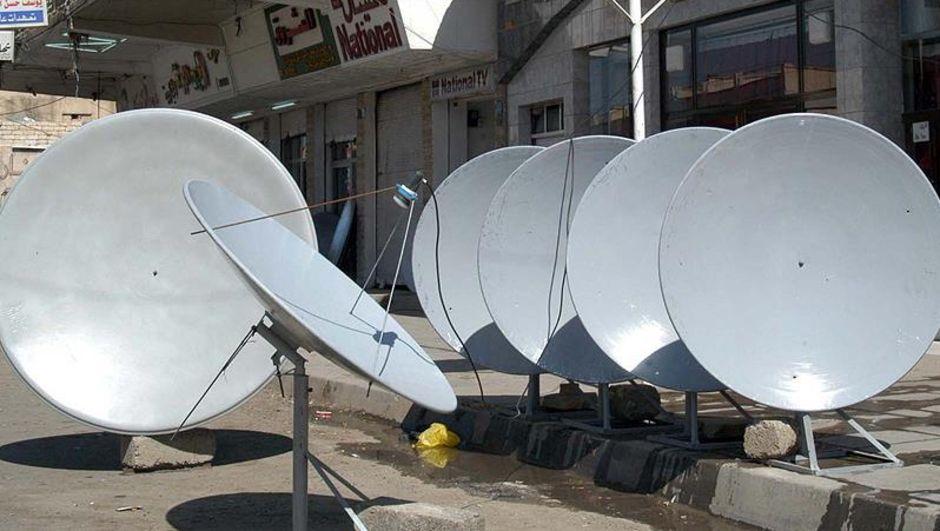 DAEŞ Musul Çanak anten