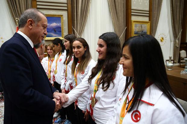 Cumhurbaşkanı Erdoğan, Rio 2016 Paralimpik Olimpiyatları
