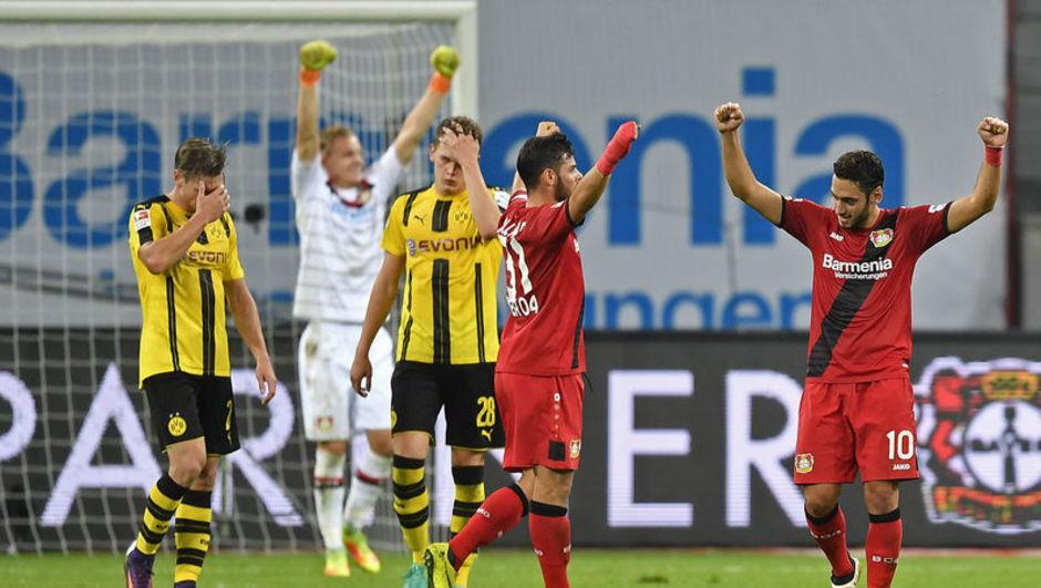 Leverkusen: 2 - Borussia Dortmund: 0