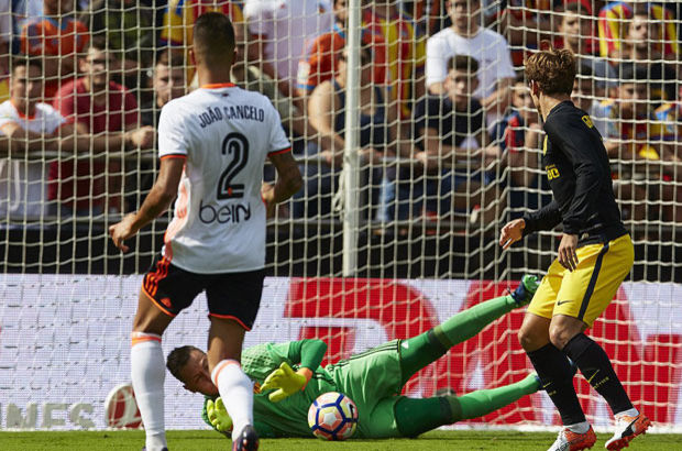 Valencia: 0 - Atletico Madrid: 2