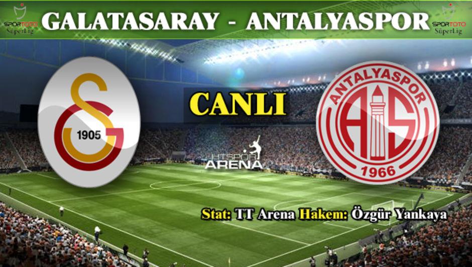 Galatasaray: 3 - Antalyaspor: 1  MAÇ ÖZETİ