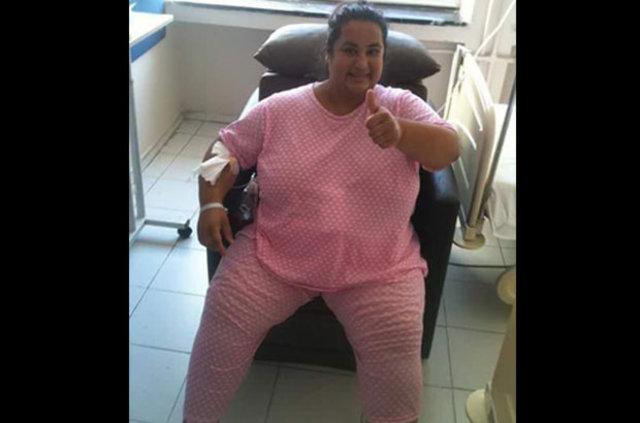 Eşine kızıp mide küçültme ameliyatı olan Ebru Çoban yaşam mücadelesi veriyor!