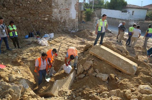 Muğla'da lahit bulundu