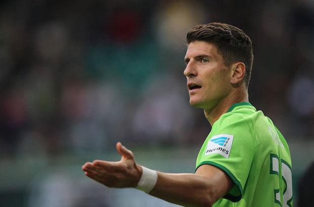 Mario Gomez Wolfsburg Beşiktaş
