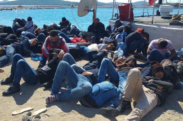İzmir Balıkesir Göçmen Kaçak