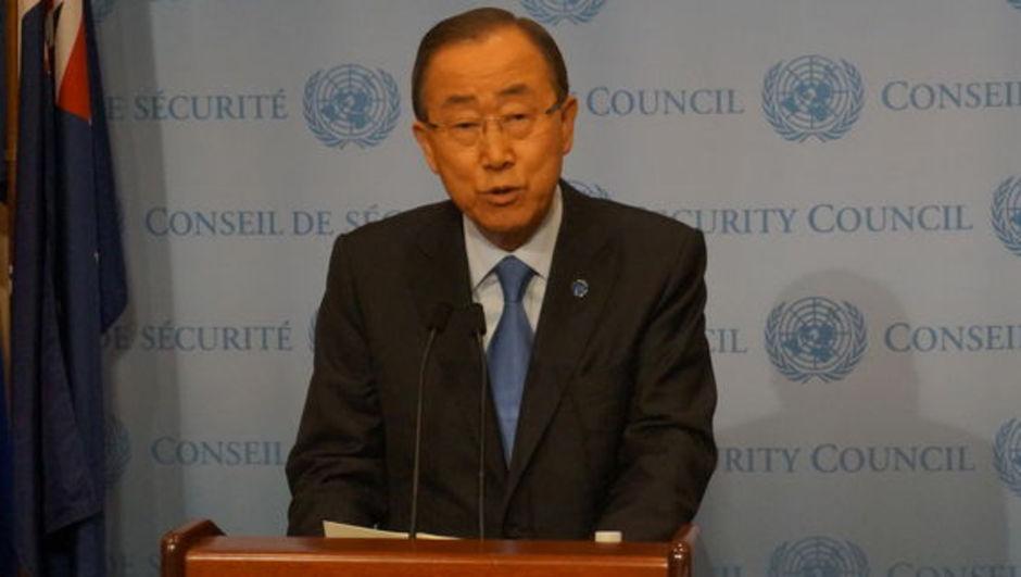 Ban Ki-mun Suriye Halep
