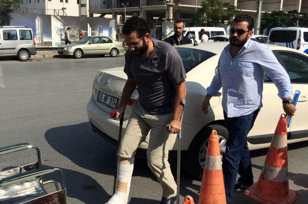 """Polisten kaçarken ayağını kıran """"savcı"""" tutuklandı"""