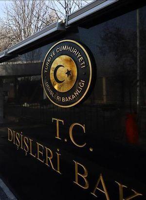 Dışişleri Bakanlığından Irak'ın Türk askeri kararına tepki
