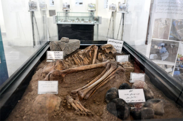 İran'da M.Ö. 7500 yılına ait insan iskeleti bulundu