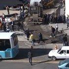 Erzurum'da döner bıçaklı, kazma, kürekli kavga