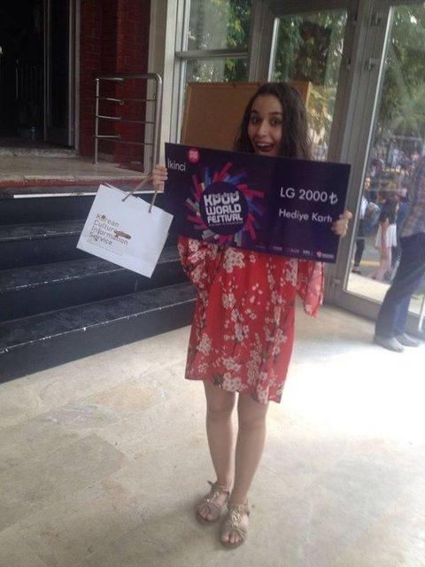 Türk kızı Asel, Kore'nin şampiyonu