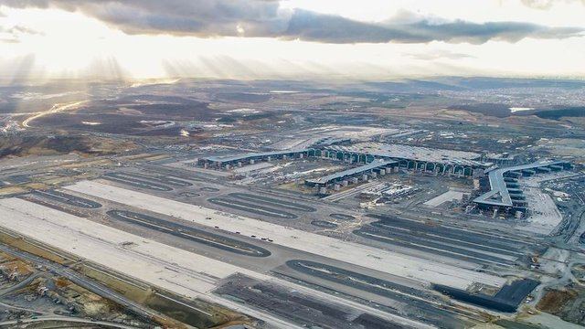 İstanbul 3. Havalimanı'ndan son görüntüler! - İstanbul 3. Havalimanı'nda