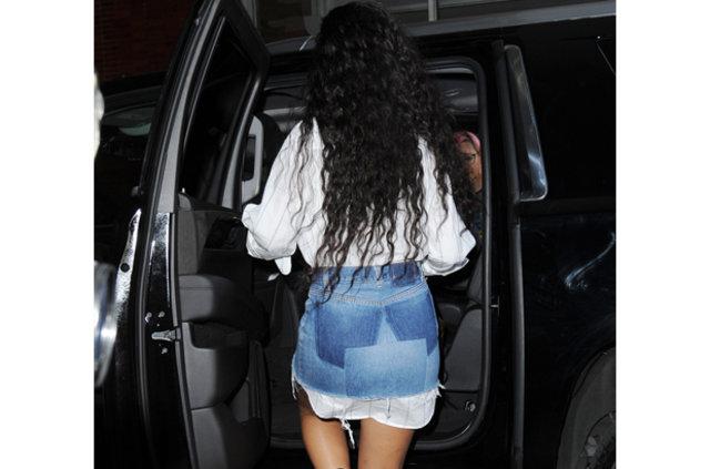 Rihanna'ın ilginç tarzı