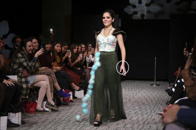 Görme engelli mankenlerin catwalk sırrı