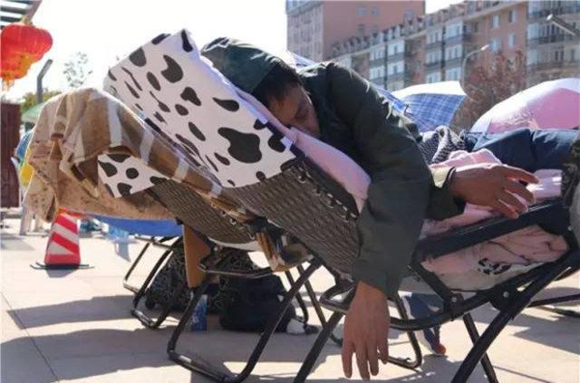 Çin'in geleneksel uyku yarışması