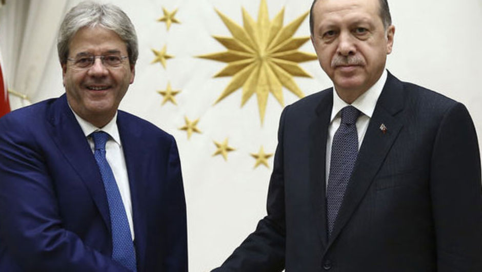 Recep Tayyip Erdoğan Paolo Gentiloni