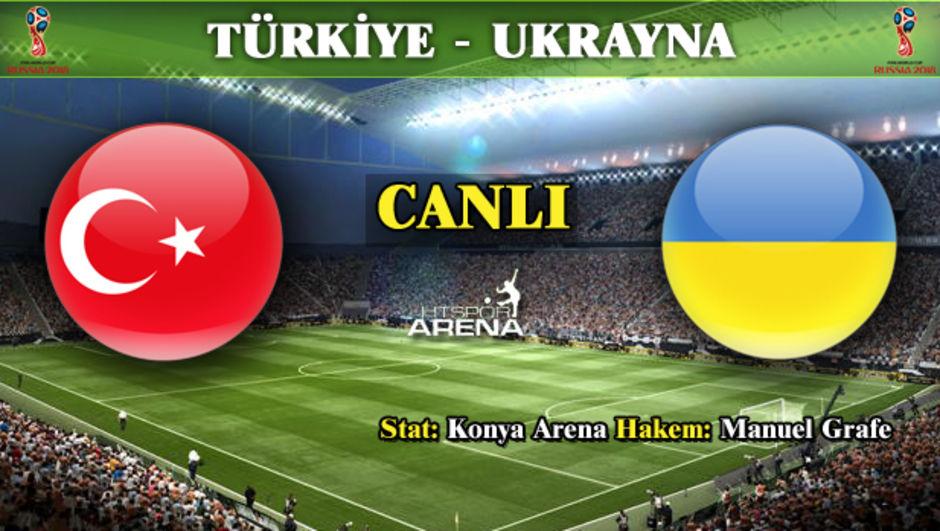 Türkiye - Ukrayna canlı takip