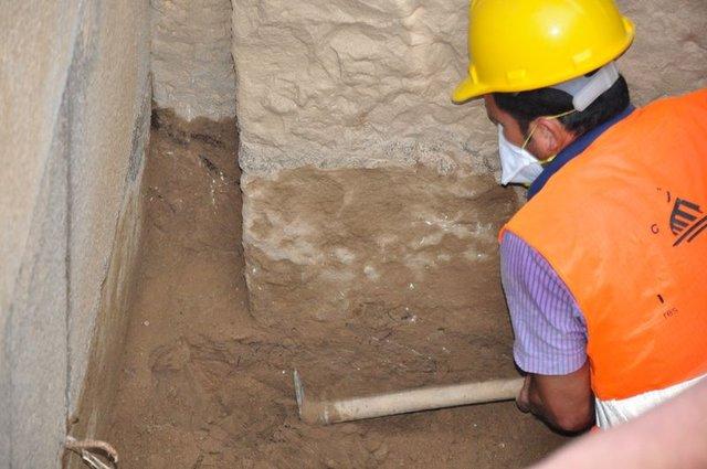 Muğla'da yapılan lahit kazısında oda mezar bulundu