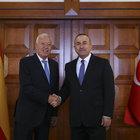 Çavuşoğlu ile Margallo'dan ortak basın toplantısı