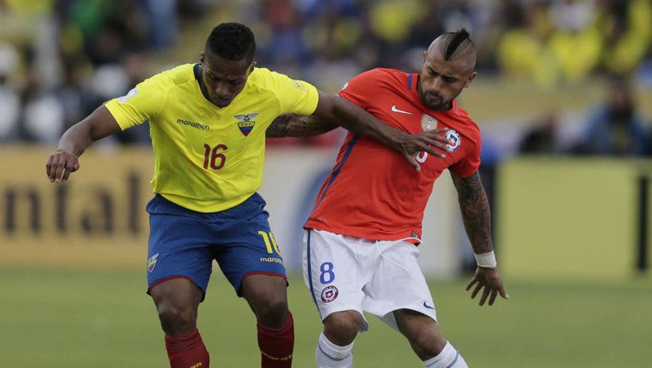 2018 FIFA Dünya Kupası Güney Amerika Elemeleri Enner Valencia Lionel Messi Brezilya Arjantin
