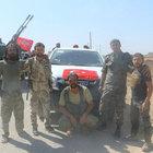ÖSO, IŞİD'in bomba yüklü aracını imha etti