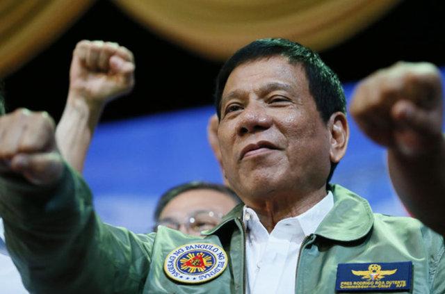 Filipinler Devlet Başkanı Duterte'nin 100 günü
