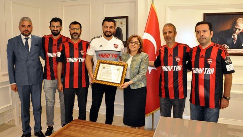 Gaziantepspor Fatma Şahin