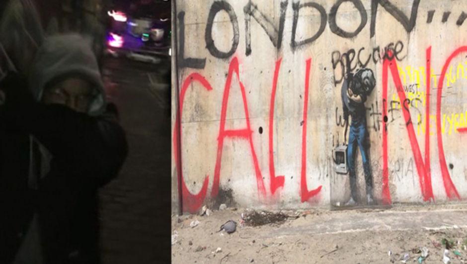 Grafiti sanatçısı Banksy