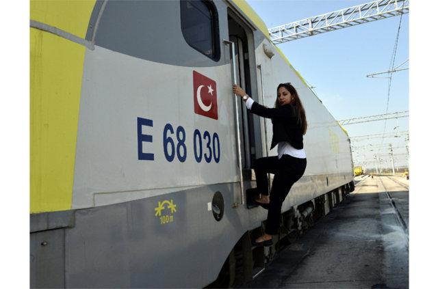 Demiryollarının kadın makinistleri