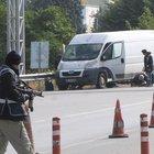 Eskişehir'de 'bomba yüklü minibüs' ihbarı polisi alarma geçirdi