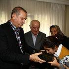 Cumhurbaşkanı Erdoğan'dan şehit ailelerine taziye ziyareti