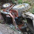 Besni'de traktörün altında kalan baba-oğul öldü