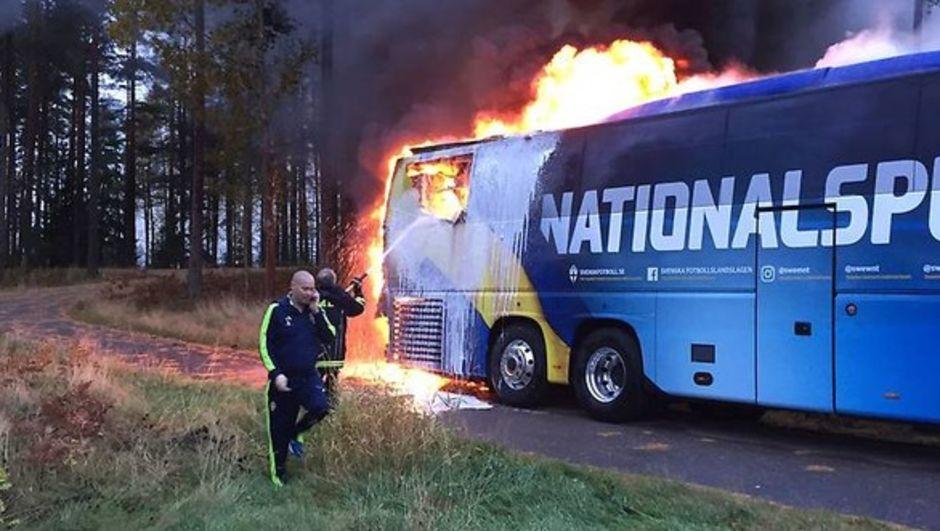 İsveç Milli Takım otobüsü