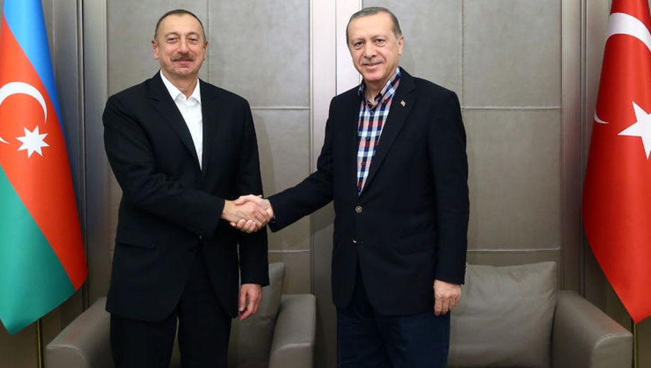 Cumhurbaşkanı Erdoğan ve İlham Aliyev
