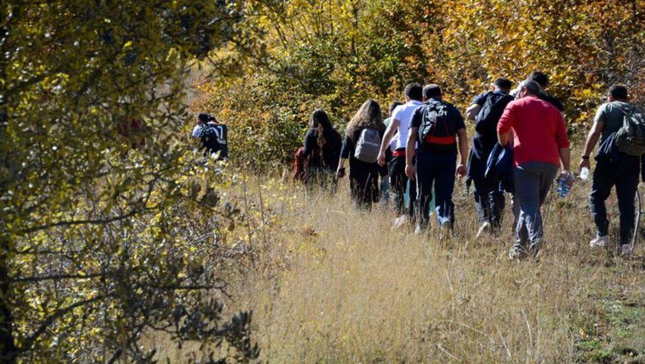 Güzyurdu köyüne 'güz' yürüyüşü