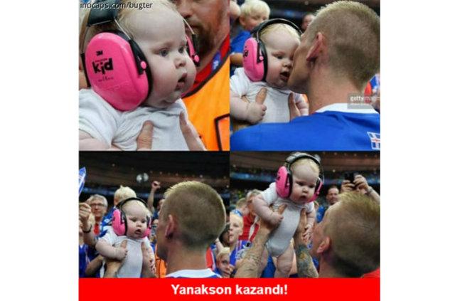 İzlanda - Türkiye maçı sonrası capsler patladı