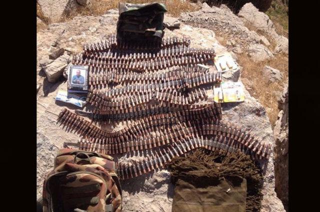 Suriyeli teröristlerin kimlikleri Çukurca'da ortaya çıktı