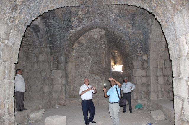 Mühendislik harikası 2 bin yıllık eşsiz kale