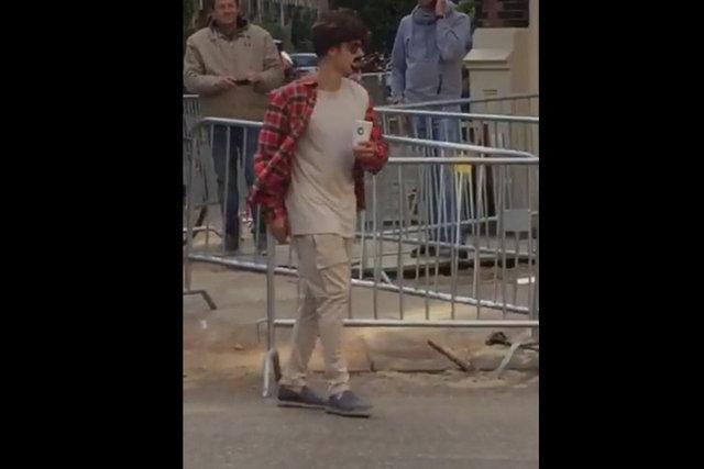 Justin Bieber'dan güldüren kamuflaj