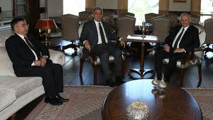 Binali Yıldırım'dan, Abdullah Gül'e ziyaret