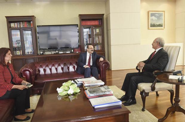 YÖK Başkanı Saraç, Kılıçdaroğlu ile görüştü